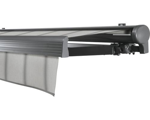 Hülsenmarkise 450x350 cm Soluna Comfort mit Motor Dessin Trend D420 inkl. Sonnen und Windwächter