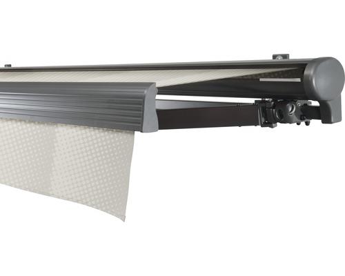 Hülsenmarkise 600x400 cm Soluna Comfort mit Motor Dessin Trend J202 inkl. Sonnen und Windwächter
