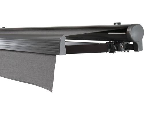 Hülsenmarkise 400x200 cm Soluna Comfort mit Motor Dessin Trend U104 inkl. Sonnen und Windwächter