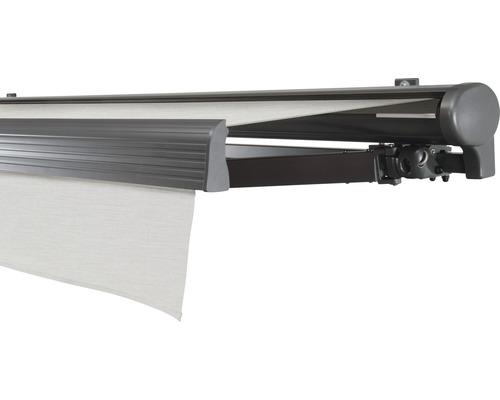 Hülsenmarkise 400x350 cm Soluna Comfort mit Motor Dessin Trend U190 inkl. Sonnen und Windwächter