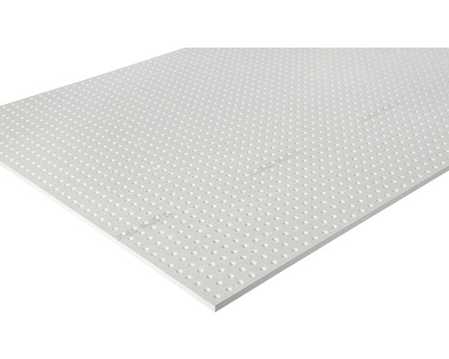 Gipskartonplatte Knauf Cleaneo® Akustik® 4SK 10/23R 1196x2001x 12,5 mm weiß