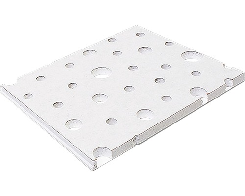 Gipskartonplatte Knauf Cleaneo® Akustik® UFF 10/16/22R 1200x2000x 12,5 mm weiß