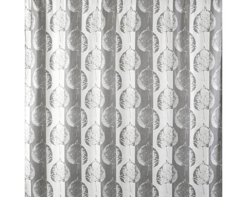 Duschvorhang Spirella Lef taupe 180x200 cm