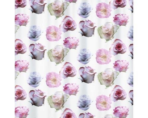 Duschvorhang Spirella Muse rose 180x200 cm