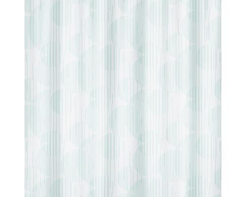 Duschvorhang Spirella Raio metallic-blue 180x200 cm
