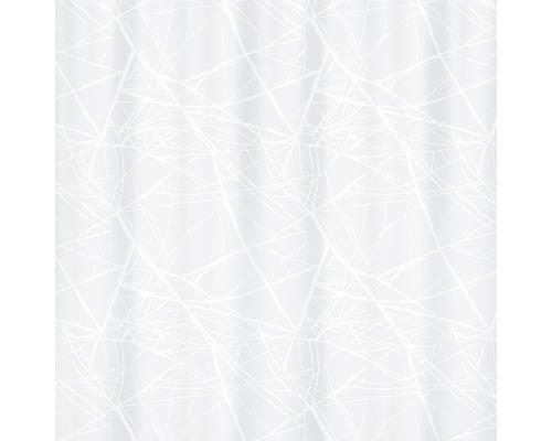 Duschvorhang Spirella Fores white 180x200 cm