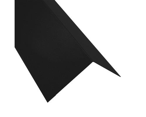 Rinneneinhang für Metallwellplatte S18 Big Stone schwarz RAL 9005 L: 2,00 m