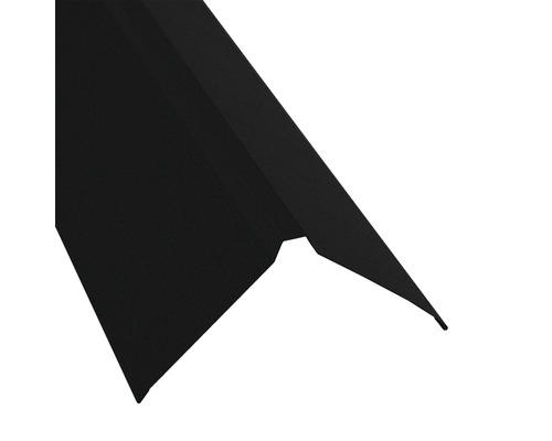 Dachfirst gerade für Metallwellplatte S18 Big Stone schwarz RAL 9005 L: 2,00 m
