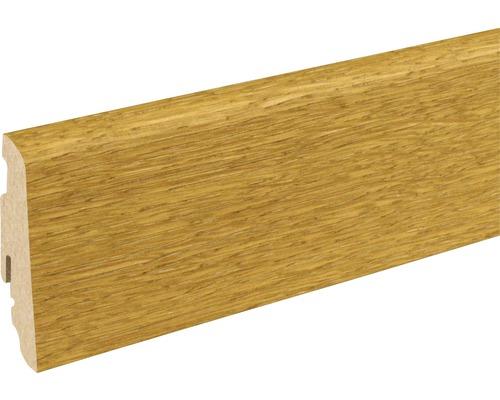 Sockelleiste SU60L Eiche gebürstet 19x58x2400 mm
