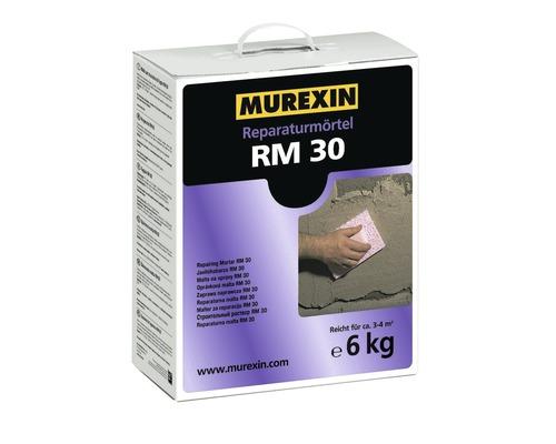 Reparaturmörtel RM 30 Murexin grau 6 kg
