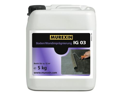 Boden-Wandimprägnierung Murexin IG 03 5 Kg