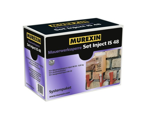 Mauerwerkssperre Murexin Inject IS 48 Set