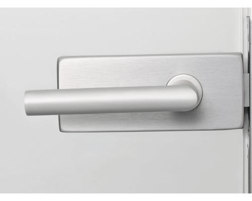 Türdrücker für Glastüre Jane edelstahl unverschließbar inkl. Officebänder