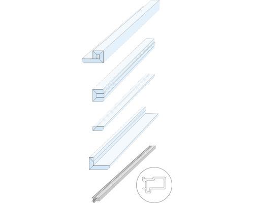 Knauf Zargenlose Türlaibung für Holztürblatt Fertigwanddicke 125 mm Pocket Kit Schiebetürsystem