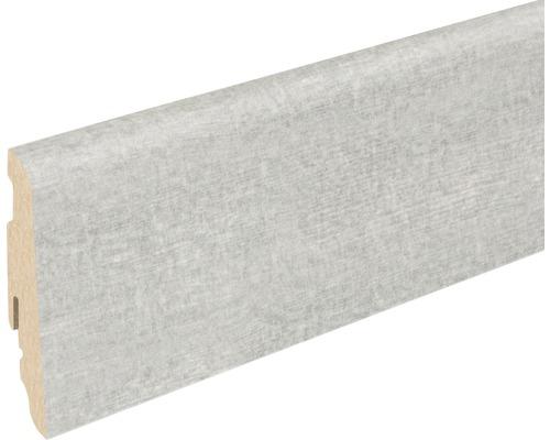 Sockelleiste FU060L Adana Wood Grau 19x58x2400 mm
