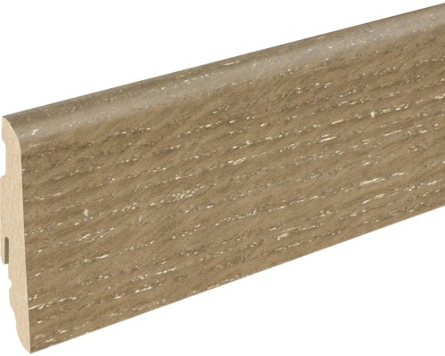 Sockelleiste SU060L Eiche smoked 19x58x2400 mm