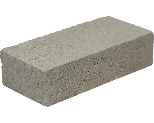 Mauerstein Beton grau 12x25x6,5 cm