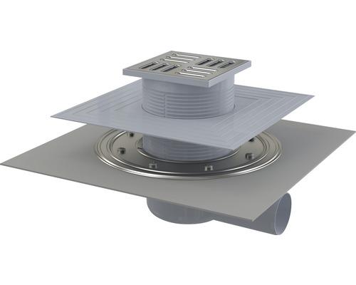 Bodenablauf veporit Plus NW50 mit senkrechten Ablauf