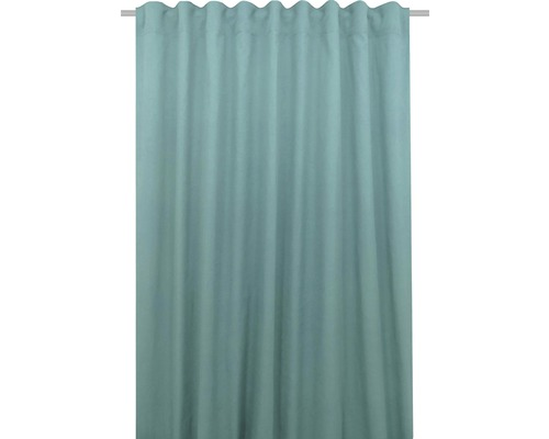 Vorhang mit Universalband Canvas mint 140x280 cm
