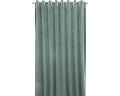 Vorhang mit Universalband Velvet mint 140x280 cm