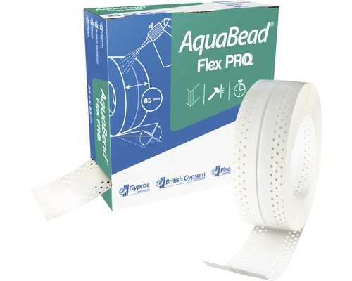 PVC Kantenschutz AquaBead Flex Pro 25 m x 85 mm