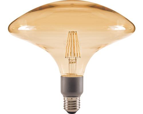 FLAIR LED Lampe E27/4,5W(40W) GA200 dimmbar amber 470 lm 2000 K warmweiß