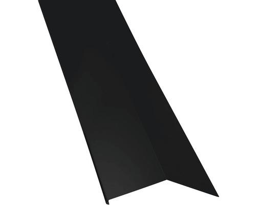 PRECIT Schürze für Mansarden außen Big Stone jet black RAL 9005 1000 x 135 x 90 mm