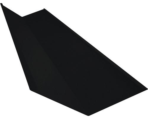 PRECIT Kehlblech Big Stone jet black RAL 9005 1000 x 188 x 188 mm