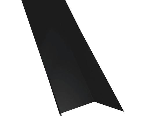 PRECIT Schürze für Mansarden außen Big Stone jet black RAL 9005 2000 x 135 x 90 mm