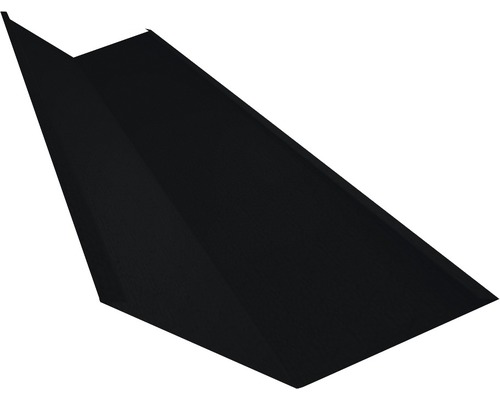 PRECIT Kehlblech Big Stone jet black RAL 9005 2 m