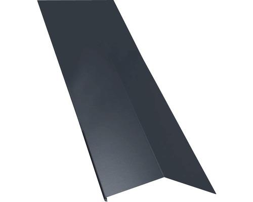 PRECIT Schürze für Mansarden außen Big Stone graphite grey RAL 7024 1 m