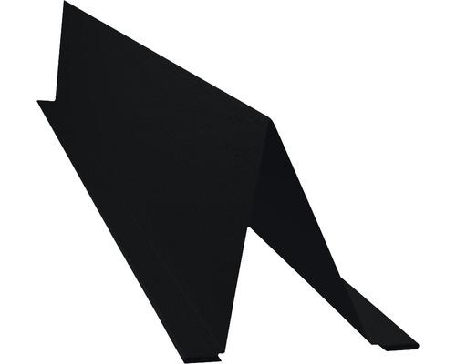 PRECIT Schneestopper Big Stone jet black RAL 9005 2 m