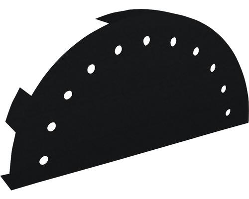 PRECIT Abschlusskappe für Firstblech Big Stone jet black RAL 9005