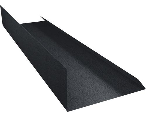 PRECIT Kantenwinkel Schürze Big Stone graphite grey RAL 7024 1000 x 100 mm