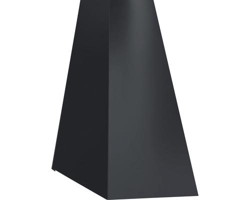 PRECIT Schürze für Mansarden innen Big Stone graphite grey RAL 7024 2000 x 100 x 140 mm