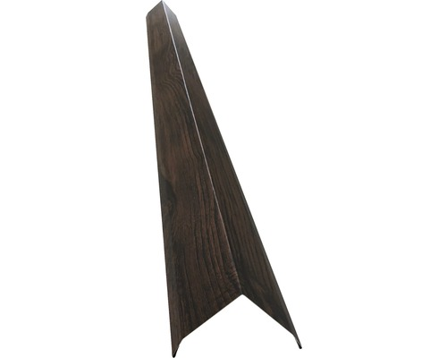 PRECIT Aussenecke für Wandpaneel nussbaum 2000 x 910 x 0,45 mm
