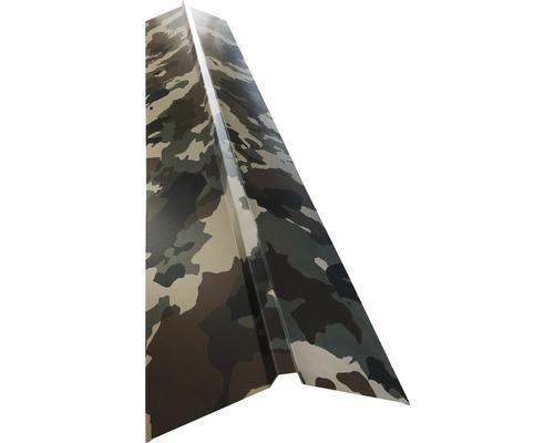 PRECIT Dachfirst gerade für Trapezblech H12 camouflage 1000 x 95 x 95 mm