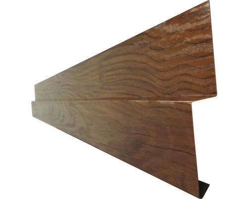 PRECIT Sockelblech für Wandpaneel golden oak 1 m