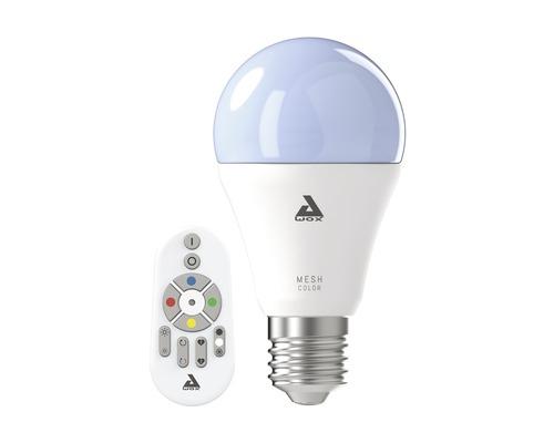 LED Lampe Eglo Crosslink A60 RGBW CCT dimmbar E27/9W 806 lm 2750 K warmweiß mit Fernbedienung