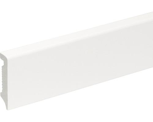 Sockelleiste weiß PS 14,5x58x2400 mm