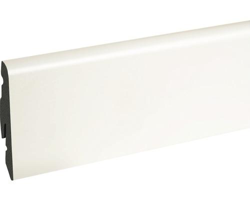 Sockelleiste weiß foliert 14x58x2400 mm