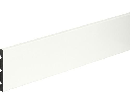 Sockkelleiste PVC weiß glänzend 8x68x2400 mm