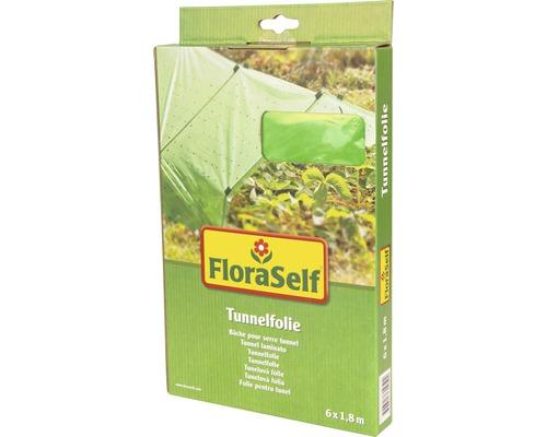 Tunnelfolie FloraSelf 6x1,8 m grün