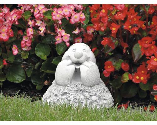Gartenfigur Maulwurf H 15 cm