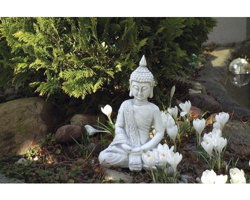 Gartenfigur Buddha H 31 cm