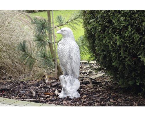 Gartenfigur Adler H 55 cm