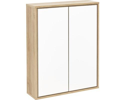 Spiegelschrank Fackelmann FINN 60x75x18,5 cm 2-türig asteiche