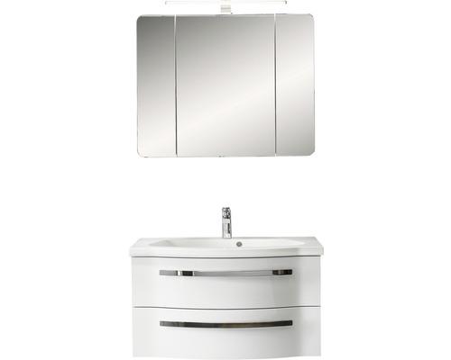 Badmöbel-Set Pelipal Xpressline 4005 200x120x49,6 cm weiß