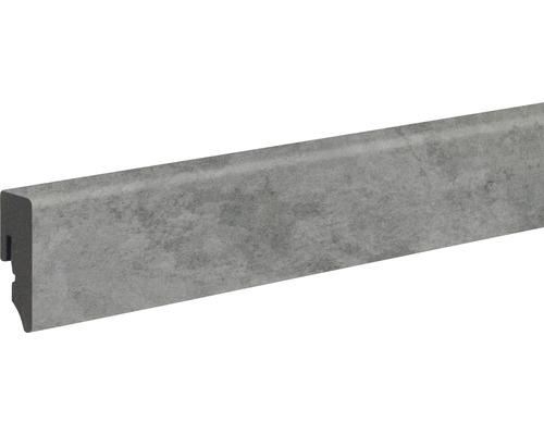 Sockelleiste KU048L 15x39x2400 mm PVC Nimbus dark