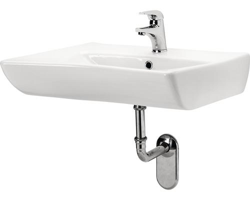 Waschbecken Cersanit Etiuda 66x55 cm weiß